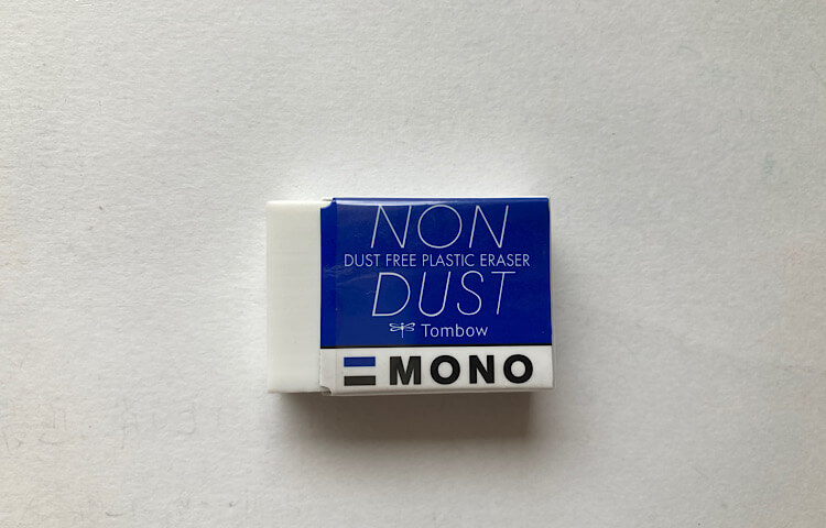 NON DUST-MONOの消しゴムの写真